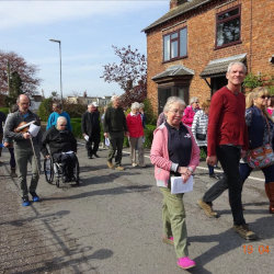Good Friday 2019 - Walk of Witness, Billinghay